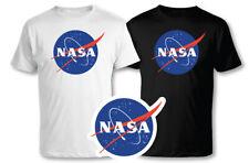 T-SHIRT NASA MAGLIA MAGLIETTA SPAZIO - 100% COTONE
