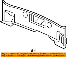 Dodge CHRYSLER OEM 15-18 Charger Interior-Rear-Rear Panel Trim 5PQ16DX9AB