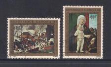 (UXWW029) GABON 1972 Christmas set fine used stamps