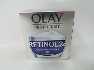 Olay Regenerist Retinol 24 Night Moisturizer (Fragrance-Free) 1.7 oz, New In Box