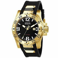Swiss Made Invicta 6255 Reserve Excursion Black Dial Men's Watch