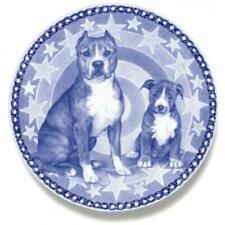 American Staffordshire Terrier - Dog Plate made in Denmark from the finest Europ