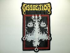 DISSECTION  EMBROIDERED BACK PATCH