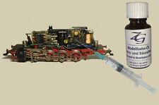 Schmier-Öl, Modellbahn Öl, 25 ml mit Dosierspritze für Ihre Märklin Lok