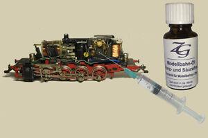 Modellbahn-Schmier-Öl 25ml + Dosierspritze f. Märklin Fleischmann (100ml=15,56€)