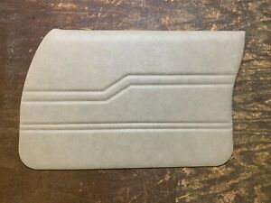 Holden Front Door Trim Cards (Chamois) suits HQ, HJ, HX and HZ
