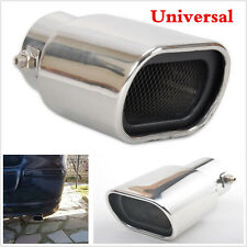 Universal Straight Stainless Steel Exhaust Tails Rear Tail Silencer Tip Pipe End