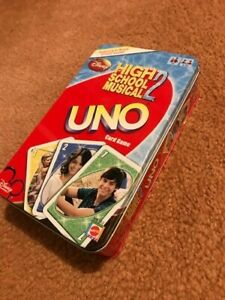 High School Musical 2 UNO Card Game in Collector Tin