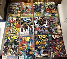 Cable (1993) Lot Marvel comics 39 issues 8, 21, 25, 50, 88 and more comic X-men
