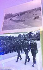 RARE 1945 WW2 Photo ARNHEM Charles Foulkes Parade CANADA NETHERLANDS GERMANY