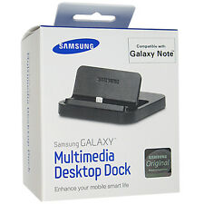 Samsung Multimedia Desktop Dock Cradle Charger For Galaxy Note N7000 I717 I9202