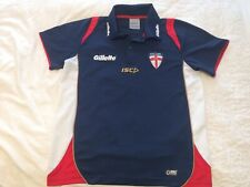 England Gillette Ladies Polo Shirt Size 14 - 38 Inch Chest Rugby League Jersey