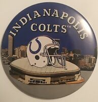"Indianapolis Colts Football NFL 3"" Button Pinback"