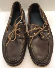 Timberland Men 14 M Boat Shoes Brown Made in Dominican Republic US 74035