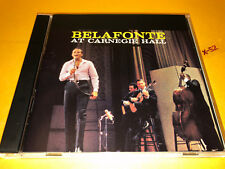 HARRY BELAFONTE cd AT CARNEGIE HALL live 15 hits SYLVIE danny boy DAY O matilda