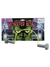 Frankenstein Monster Neck Bolts Halloween Horror Fancy Dress Accessory