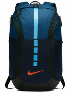 Nike Hoops Elite Pro Basketball Backpack Obsidian and Coastal Blue BA5554-407