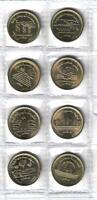 2019 Egypt Египет Ägypten Coins Uncirculated conditions,Set of 8 half pound