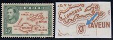 """Fiji, SG 256ba, MHR """"Extra Island"""" variety"""