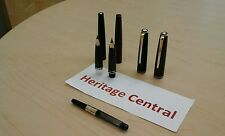 Montblanc Fountain pens in Burgundy / Gold OR Black / Gold  VINTAGE!  MINT!!