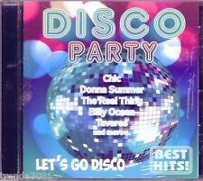 DISCO PARTY BEST CD Classic 70s BILLY OCEAN DONNA SUMMER DOLLAR TRAMMPS Rare