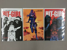 Hit-Girl #6 Variant Set 3 Covers A B 1:10 B&W Sketch Russo Liefeld Image 2018