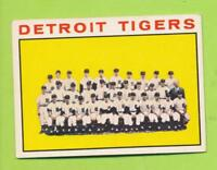 1964 Topps - Detroit Tigers Team Card (#67)