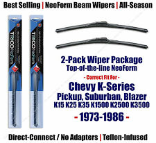 2-Pack NeoForm Wipers fit 1973-1986 Chevy K10 K20 Pickup Suburban - 16160x2