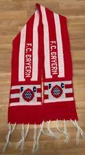 retro BAYERN MÜNCHEN scarf schal sciarpa bufanda echarpe GERMANY football RARE