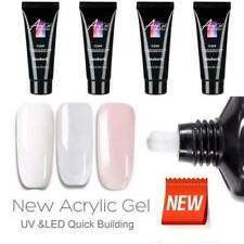 Poly gel Nail Kit, DIY, Poly Builder, Acrylic, Art, UV Lamp, Glue Extension 2020