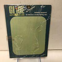 VINTAGE 1964 GI JOE ACTION SAILOR  Card Good Condition with catalog Hasbro