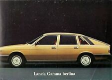 Lancia Gamma 1976-78 Multilingual Launch Foldout Sales Brochure Berlina Coupe