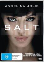 SALT : Angelina Jolie DVD (pal 2010) VGC - FREE POST