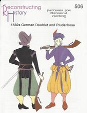 Schnittmuster RH 506: 1560s Doublet