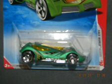 HW HOT WHEELS 2010 RACE WORLD CAVE #4 SINSTRA HOTWHEELS GREEN RACE TRACK READY