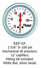 "Speco 2 5/8"" ( 66mm ) 0 - 100 Psi Mechanical Oil Pressure Gauge P/N 537-17"