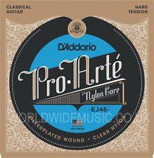 D'Addario EJ46 Pro Arte Clásica Cuerdas de Guitarra-hard tensión
