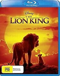 THE LION KING BLU RAY - NEW & SEALED DISNEY LIVE ACTION VERSION FREE POST
