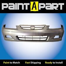 2001 2002 Honda Accord Coupe Front Bumper Painted NH623M Satin Silver Metallic
