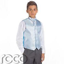 Boys Bebé Azul & Gris Suit, Página Chico para , de la Boda ,