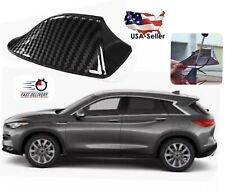 Car SUV Roof Shark Fin Radio Antenna FM/AM RV Signal Carbon Fiber Fits Infiniti