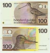 Nederland 100 Gulden 1977 Snip UNC