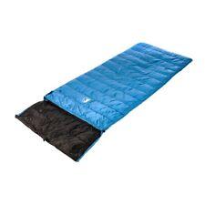 LOWLAND OUTDOOR/® Ranger Comfort NC Daunen Deckenschlafsack 230x80 cm Blau