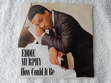 """Eddie Murphy """"How Could It Be/C-O-N Confused"""" Picture Sleeve 45 RPM Record"""