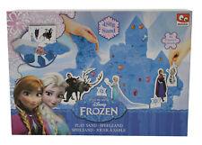 Disney Frozen Spielsand Knetsand mit 4 Figuren und 3 Förmchen