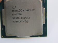 Intel Core i7-7700 3.6GHz 8M Cache Quad-Core CPU Processor SR338 LGA115 (SJ)