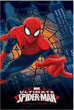 Plaid ultimate spiderman uomo ragno 100x150 cm. *03349