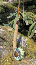 Oyster Bamboo 8ft 3 Pc 6wt Fly Rod And Ross Reel And Sa Fly Line