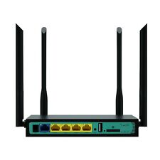 Cioswi WE2416 4G Wi-Fi Wireless Router LTE AT&T T-Mobile SIM Card Slot 300Mbps