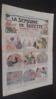 Revista Dibujada La Semana De Suzette que Aparecen El Jueves 1930 N º 9 ABE